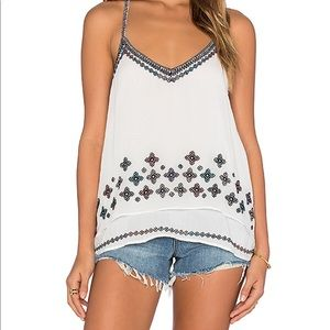LOVE SAM Savannah Tank White XS